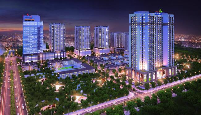 Thanh Xuân Complex hưởng lợi vị trí trung tâm và tiện ích sẵn có