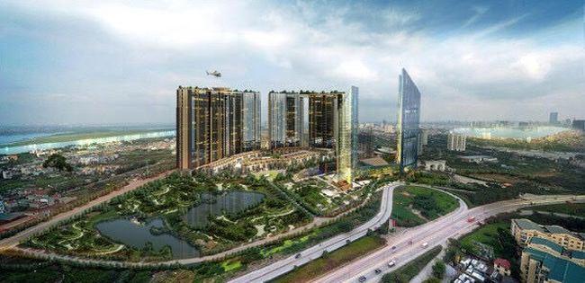 Dự án Sunshine City chuẩn bị ra mắt