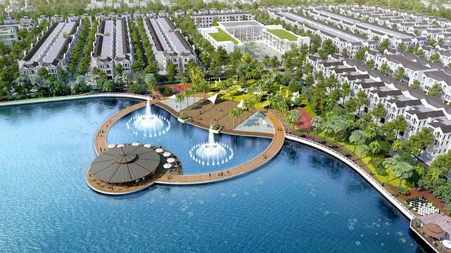 Vinhomes Riverside – The Harmony: Biệt thự ven hồ của giới nhà giàu Hà thành