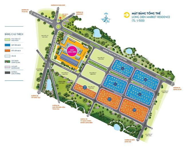 Phố chợ Long Điền: Miền đất hứa của thị trường BĐS Bà Rịa - Vũng Tàu