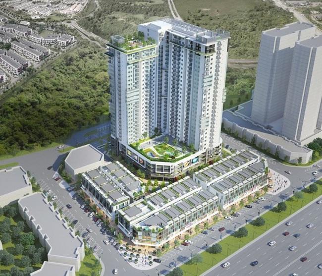 Dự án The TWO Residence chính thức cất nóc