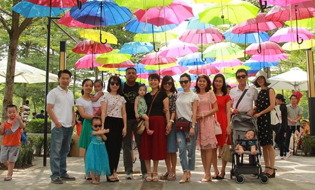 Ha Noi Garden City điểm vui chơi không thể bỏ qua trong mùa Trung Thu này