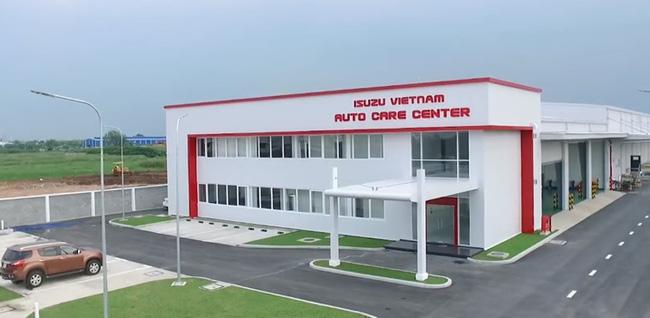 Trung tâm dịch vụ hậu mãi Isuzu Việt Nam - Điểm sáng trong thị trường ô tô