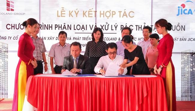 Tập đoàn Vicoland ký kết với JICA (Nhật Bản) xử lý rác thải tại Vicoland Huế