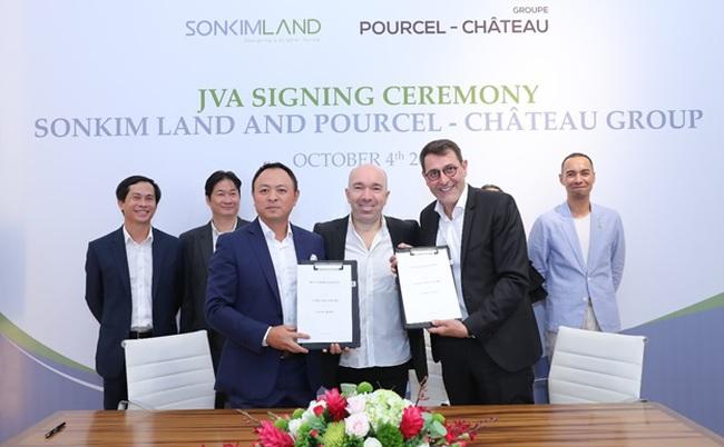 SonKim Land bắt tay với Pourcel Château, triển khai chuỗi nhà hàng  ẩm thực, café