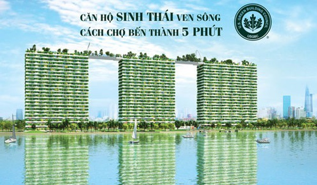 Sống xanh theo tiêu chuẩn Mỹ ở Diamond Lotus Riverside