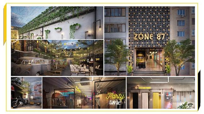 Check-in Zone 87 Complex – địa điểm kinh doanh dành cho start-up