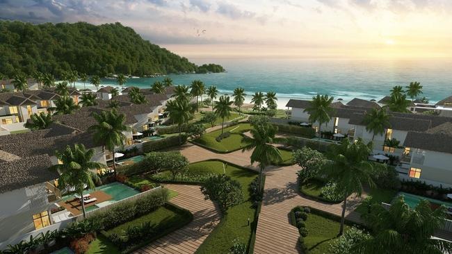 Biệt thự triệu đô ở Nam Phú Quốc hút vốn đầu tư của giới doanh nhân