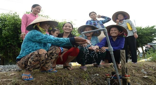 """HEINEKEN tiếp tục nỗ lực đưa nước sạch về vùng """"khát"""""""