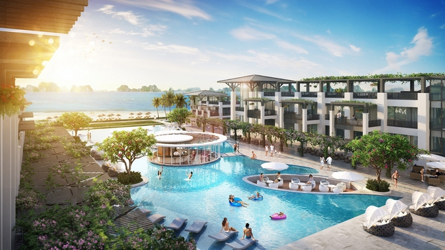 Biệt thự thương mại Sun Premier Village Ha Long Bay: Đón đầu xu thế mini hotel tại Hạ Long