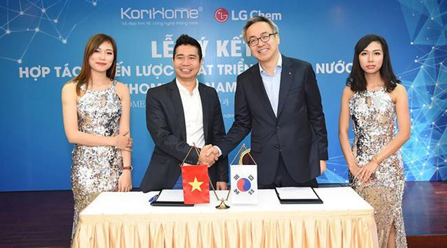 LG Chem – Korihome: Không đơn giản chỉ là một cái bắt tay