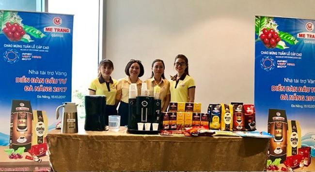 Cà phê Mê Trang – Tài trợ vàng cho Diễn đàn đầu tư Đà Nẵng bên lề APEC 2017