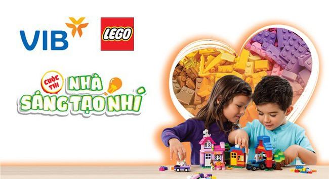 Giảm ngay 50% và 1000 phần quà hấp dẫn khi dùng thẻ VIB mua LEGO tại My Kingdom