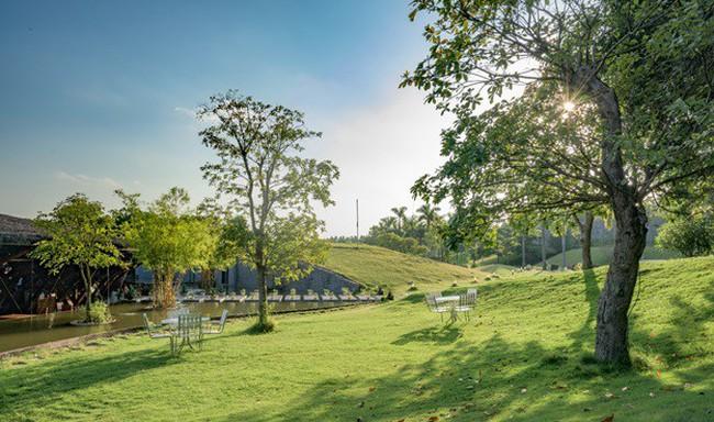 Khu Resort có phong thủy đẹp ngay gần Hà Nội