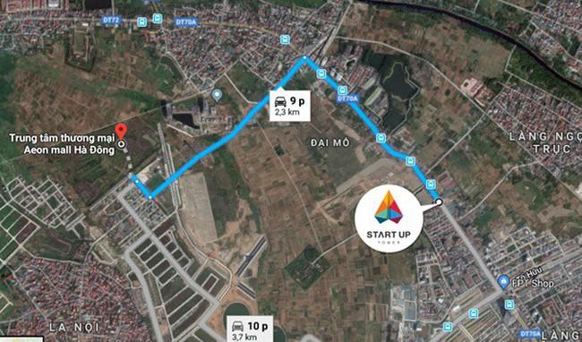 Startup Tower: Sức hút căn hộ chất lượng cao gần Aeonmall Hà Đông chỉ từ 16.5 triệu/m2