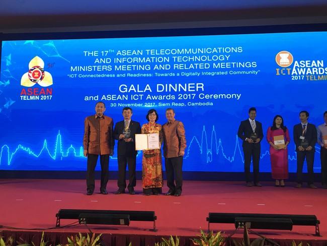 BIDV Payment đạt giải Bạc tại ASEAN ICT Awards 2017