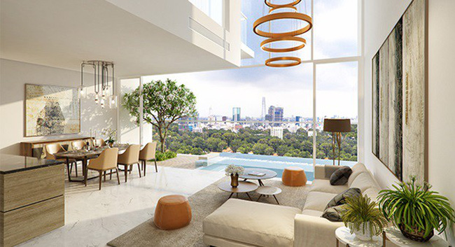 Serenity Sky Villas – đỉnh cao trong bộ sưu tập Luxury Boutique Home