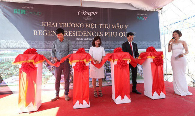 Chính thức khai trương biệt thự mẫu Regent Residences Phu Quoc