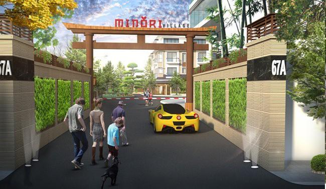 Xuất hiện Khu biệt thự phong cách Nhật bản nằm trọn trong khu lõi trung tâm Hà Nội