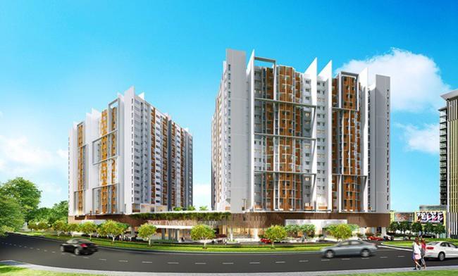 """Cận cảnh không gian sống xanh như """"resort"""" của tổ hợp căn hộ cao cấp tại Biên Hòa"""