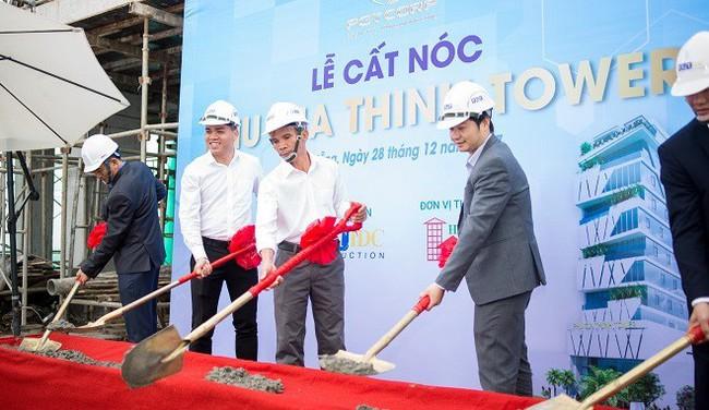 Dự án Phu Gia Thinh Tower cất nóc vượt tiến độ