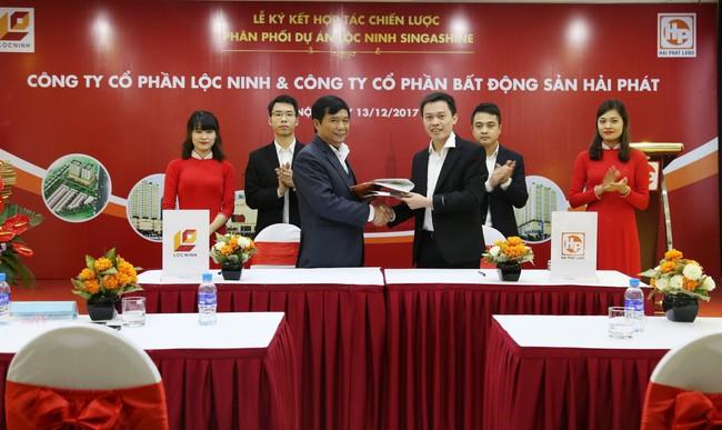 Hải Phát Land trở thành đơn vị độc quyền tiếp thị dự án Lộc Ninh Singashine