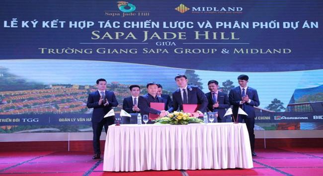 Midland chính thức trở thành đơn vị phân phối quần thể nghỉ dưỡng Sapa Jade Hill