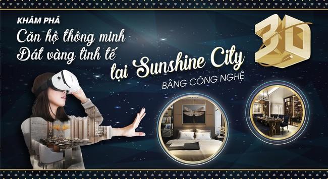 Cùng Hải Phát Land khám phá căn hộ dát vàng Sunshine City bằng công nghệ 3D