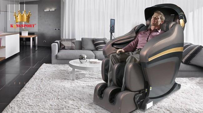 Tập đoàn Kingsport kiến tạo chuẩn mực mới cho ghế massage hạng thương gia G-series