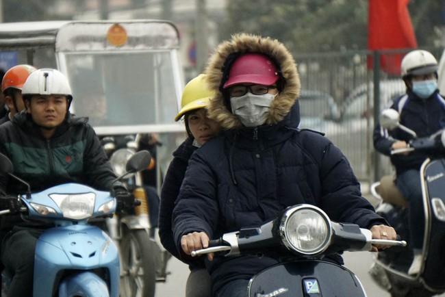 Không khí lạnh tăng cường Bắc Bộ tiếp tục có mưa