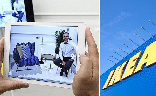 Ikea làm rúng động giới kinh doanh đồ nội thất bằng công nghệ thực tế ảo tăng cường