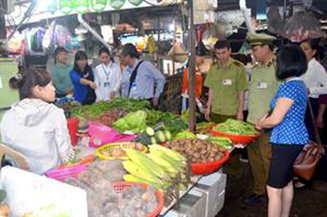 Lập Đoàn thanh tra liên ngành về an toàn thực phẩm dịp Tết