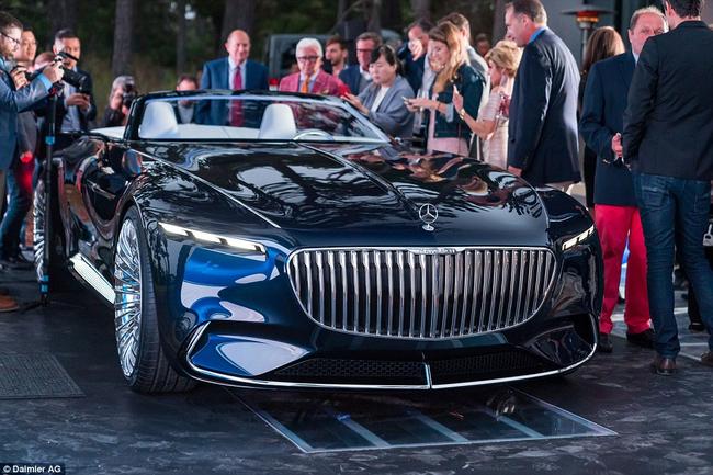 """Cận cảnh """"siêu xe quý tộc"""" Vision Mercedes-Maybach 6 Cabriolet - Hình mẫu cho tương lai"""