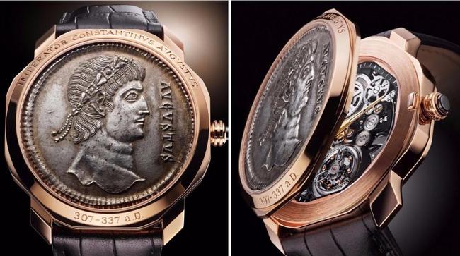 """Ấn tượng với bộ sưu tập Bulgari Monete - Bí mật lịch sử La Mã trong một """"kiệt tác đếm thời gian"""""""