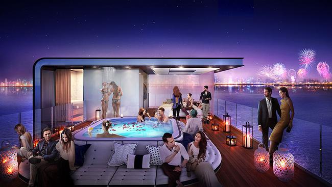 Dubai dẫn đầu phong cách sống xa hoa với dự án biệt thự giữa biển khơi