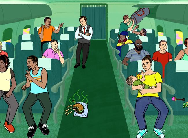 Những quy tắc tối thiểu để trở thành hành khách lịch sự khi đi máy bay mà không phải ai cũng biết
