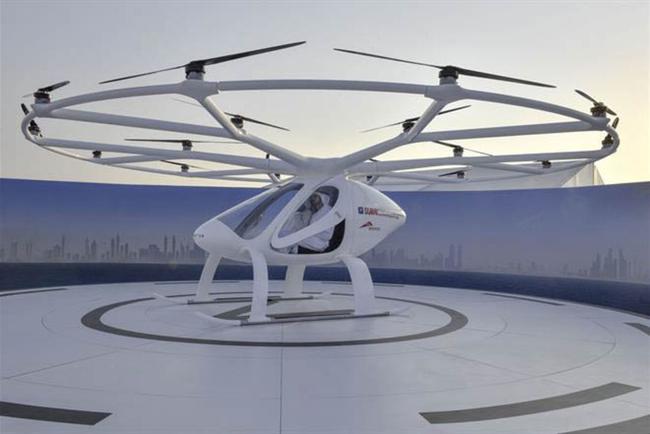 Dubai lần đầu tiên thử nghiệm taxi bay không người lái
