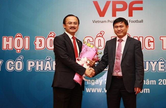 Ông chủ fusal Thái Sơn Nam thế chỗ 'bầu' Thắng tại công ty chủ quản giải bóng đá V-League