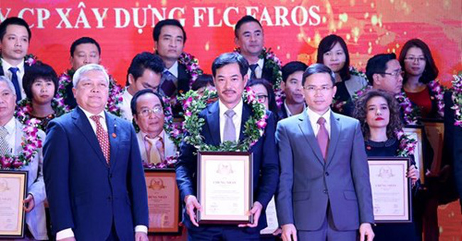 FLC Faros vào Top 500 Doanh nghiệp lớn nhất Việt Nam