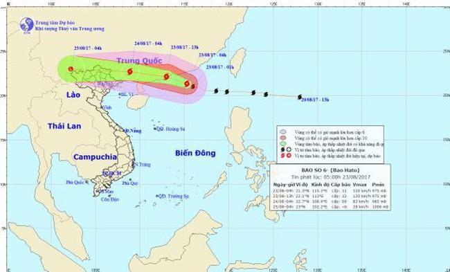 Hà Nội có nguy cơ ngập úng do mưa bão số 6