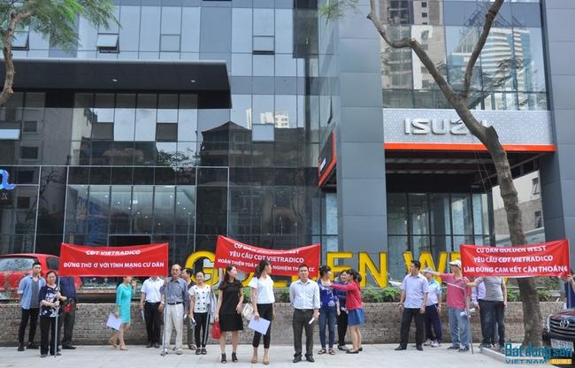 Hà Nội: Nhiều sai phạm tại dự án Golden West ở số 2 Lê Văn Thiêm