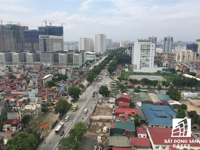 Cận cảnh tuyến đường 5km được mở rộng gấp đôi khiến hàng nghìn người mua nhà khu Tây Bắc Hà Nội mong ngóng
