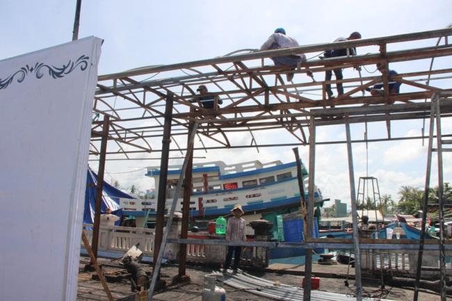 Chợ đêm Phú Quốc một tuần sau khi cháy