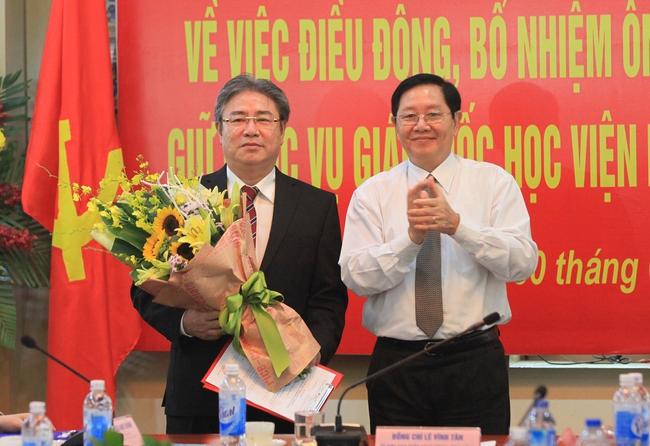 Ông Đặng Xuân Hoan giữ chức Giám đốc Học viện Hành chính quốc gia
