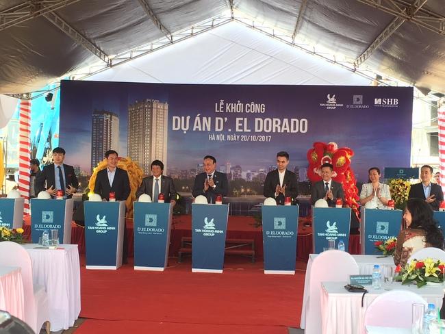 Tân Hoàng Minh khởi công xây dựng dự án căn hộ cao cấp ven Hồ Tây