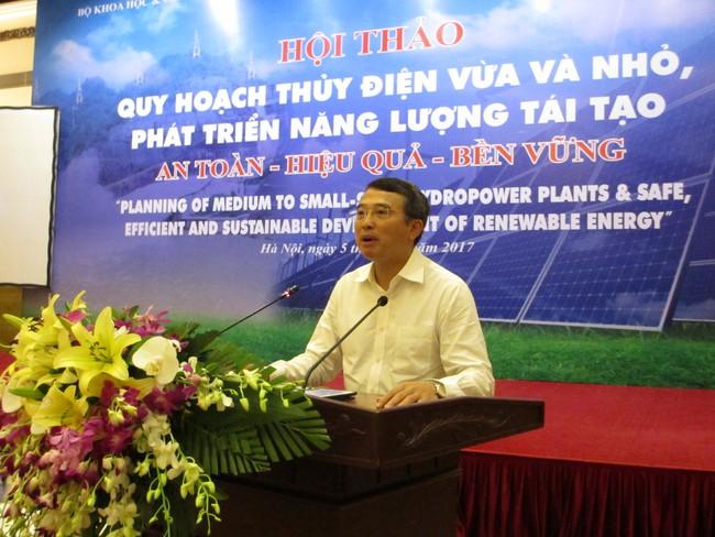 Thứ trưởng Bộ Công thương: Chưa xem xét tái khởi động 468 dự án thủy điện vừa và nhỏ