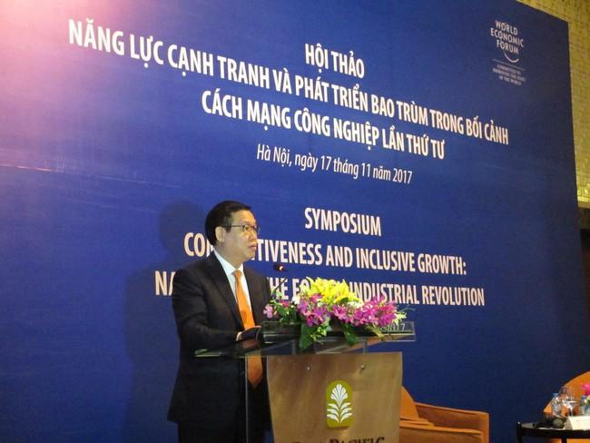 Phó Thủ tướng Vương Đình Huệ: Cách mạng 4.0 là cuộc cách mạng về phát hiện nhu cầu hơn là công nghệ