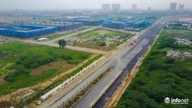 Toàn cảnh tuyến đường nghìn tỷ nối Xa La - Nguyễn Xiển sắp hoàn thành