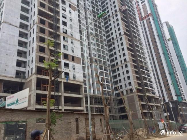 Hà Nội: Mất ăn mất ngủ vì bể phốt khổng lồ của dự án đột nhiên... mọc sát vách