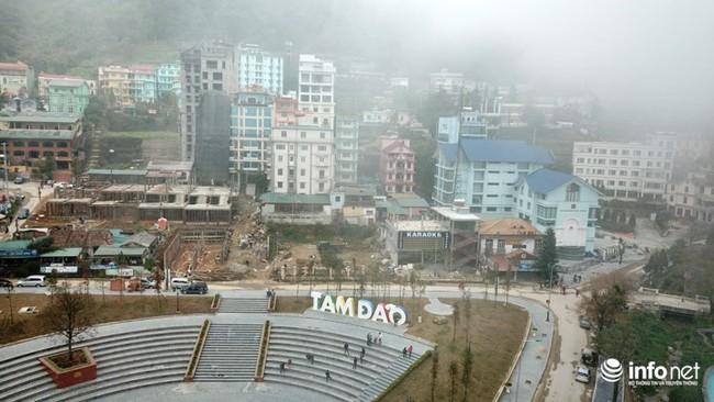 Tam Đảo - Thị trấn nghỉ dưỡng yên tĩnh biến thành đại công trường